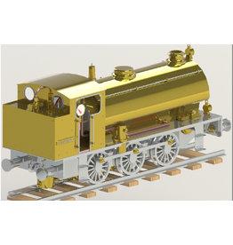"""NVM 20.20.037 'NS 8800 locomotief voor 2,5"""" spoor (64 mm)"""