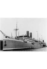 """NVM 10.10.106 pass.schip ss """"Sibajak"""" (1928) - Rott. Lloyd"""