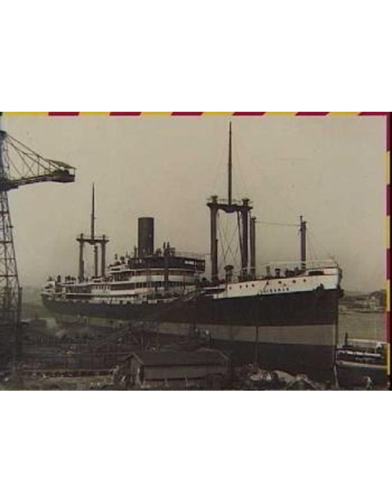 "NVM 10.10.107 vrachtpass. ss ""Tjibadak"" (1929) - KJCPL"