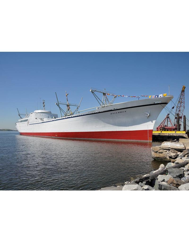 NVM 10.10.138 vracht-passagiersschip ns Savannah - (1959) - US Maritime Administration