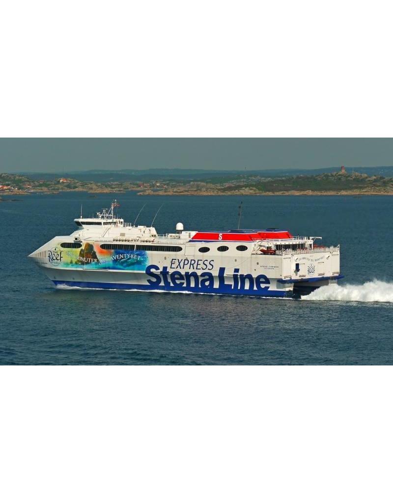 NVM 10.10.159 catamaran veerschip ms Stena Carisma (1997) - Stena Line