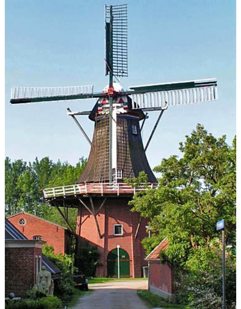 """NVM 30.06.028 CD- Stellingmolen """"de Zwaluw"""", te Zuurdijk (gem.Leens, Groningen)"""