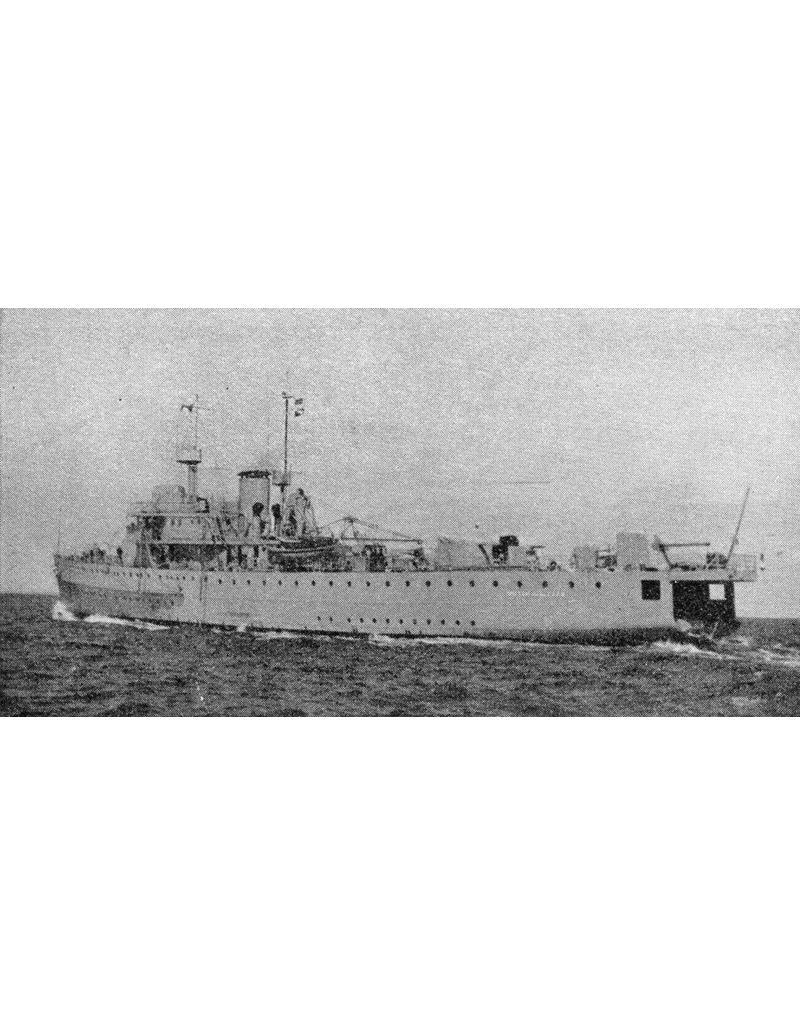 """NVM 10.11.003 HrMs mijnenlegger """" Willem van der Zaan"""" (1938)"""