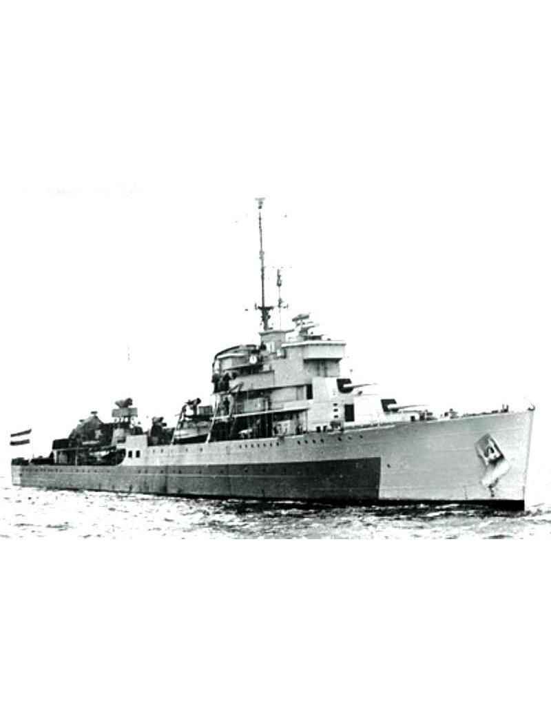 """NVM 10.11.016 HrMs flotilleleider """"Tromp"""" (1938)"""