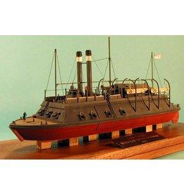 """NVM 10.11.064 raderstoomkannoneerboot USS """"Cairo"""" (1862)"""