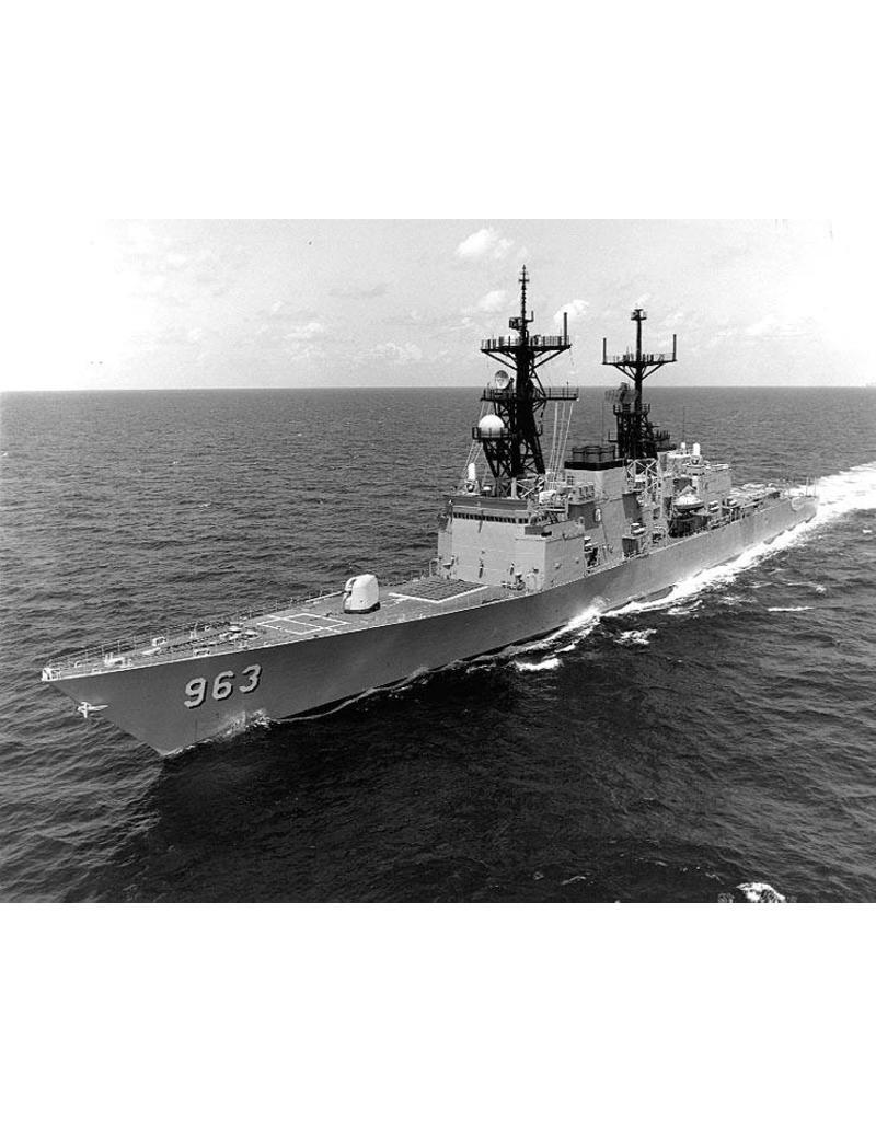 "NVM 10.11.075 destroyer USS ""Spruance"" DD963"