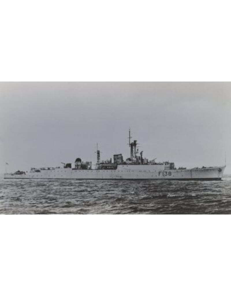 "NVM 10.11.094 type 15 fast A/S frigate HMS ""Rapid"" F138 (1953); ex R-class destroyer HMS ""Rapid"" H32"