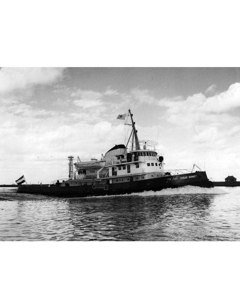"NVM 10.14.003 Suezkanaal-sleper ms ""Edgar Bonnet"" (1954) - Suezkanaal Mij.; na 1958 ""Antar"""