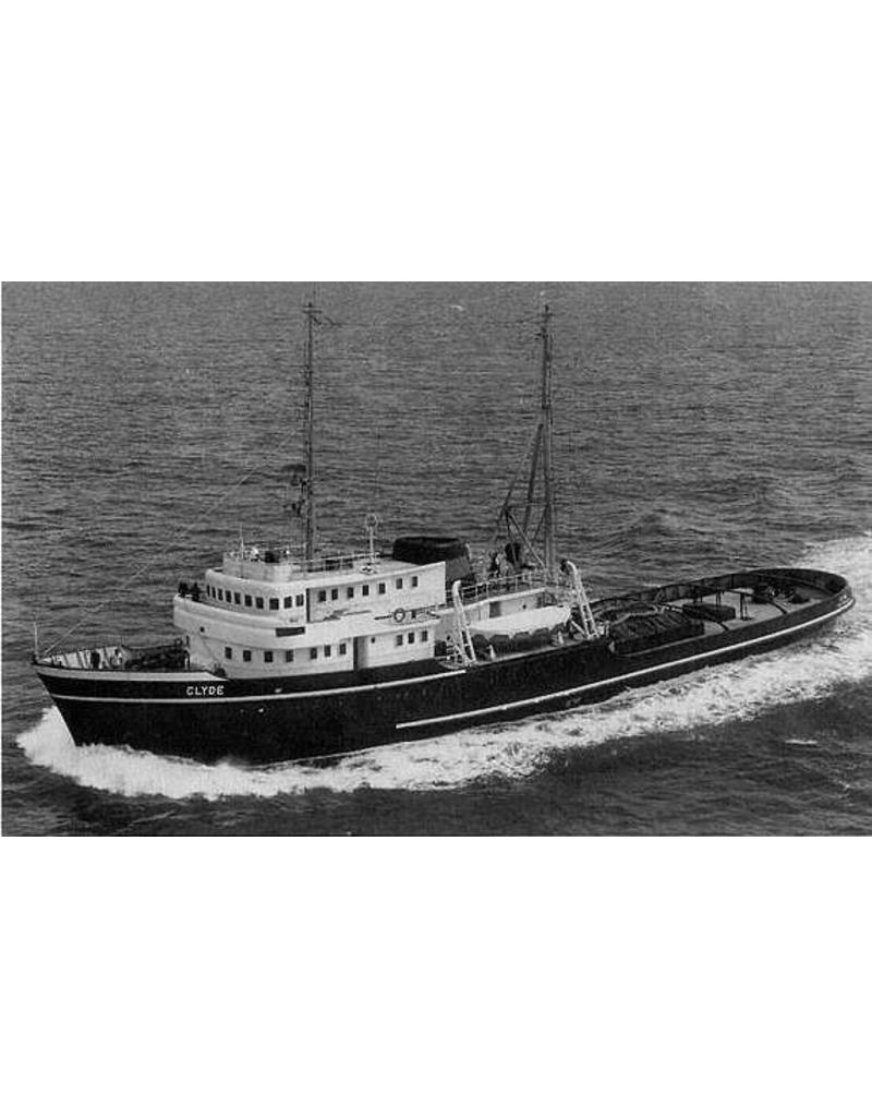 "NVM 10.14.008 ms ""Clyde"" (1957)-L. Smit & Co. Int. Sleepd.-1973 ""Smit Salvor""-Smit Int."