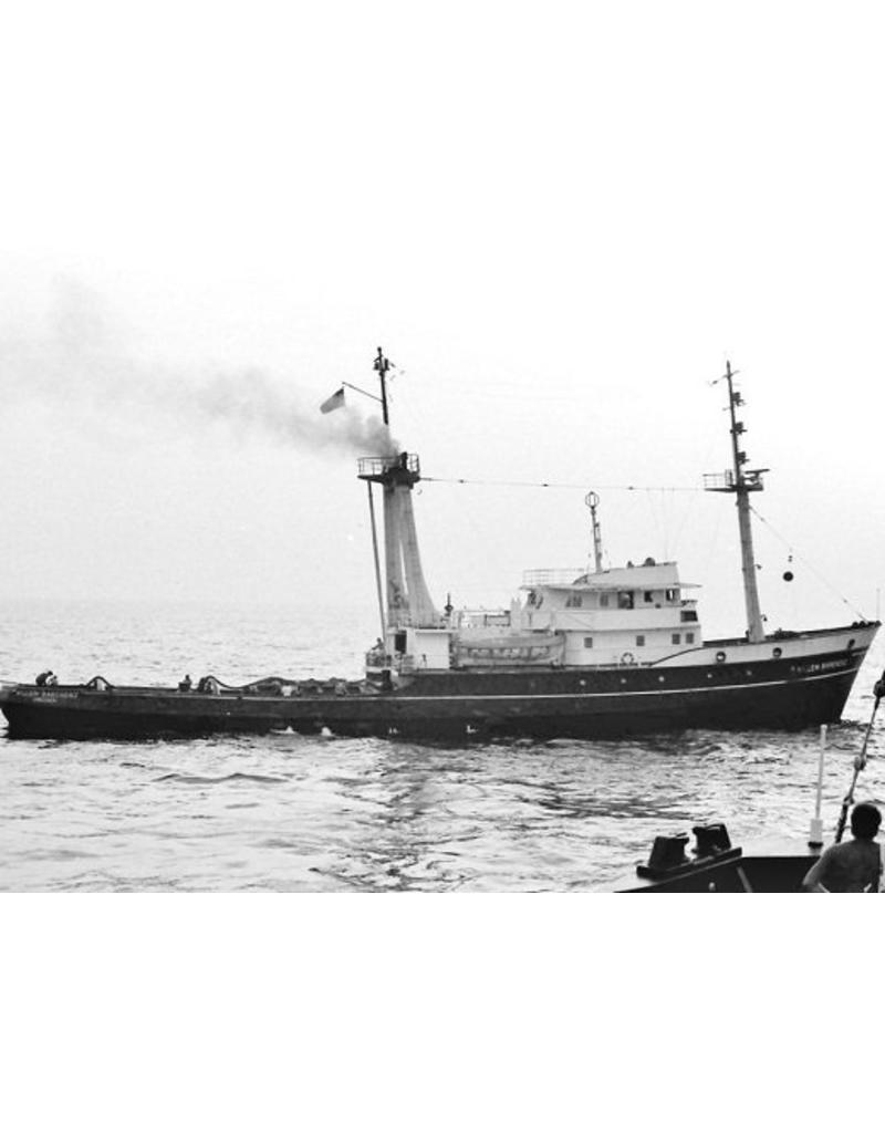 """NVM 10.14.016 zeesleper ms """"Jacob van Heemskerck"""" (III) (1964) - Bureau Wijsmuller"""