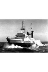 """NVM 10.14.021 zeesleper ms """"Rode Zee"""" (V) (1968) - L. Smit & Co's Intern. Sleepdienst"""
