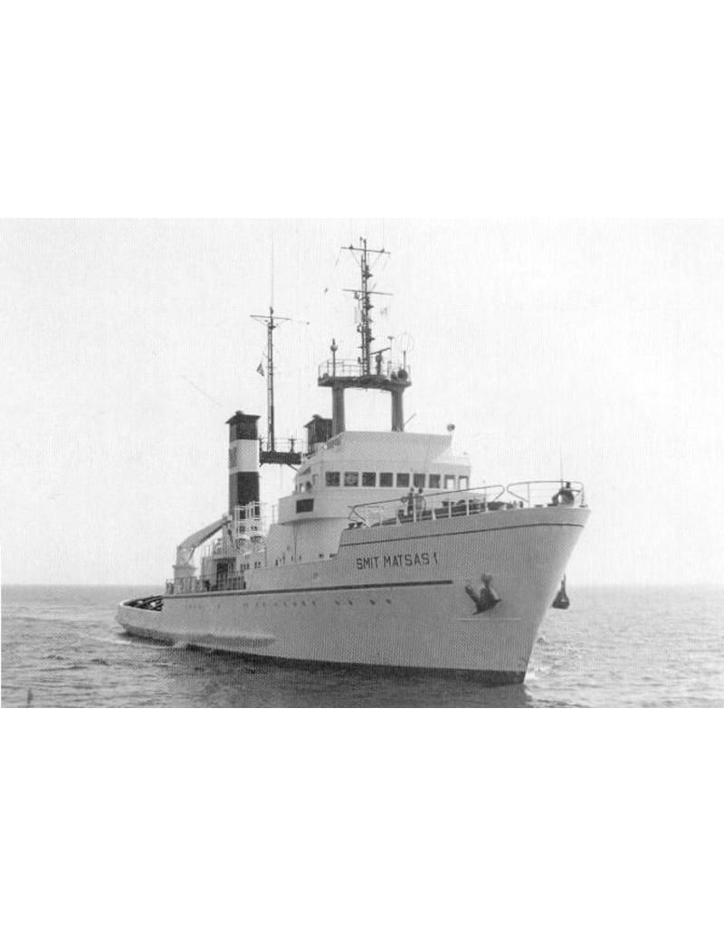 "NVM 10.14.024 zeesleper ms ""Smit Enterprise"" (1972) - Smit International, Curacao"