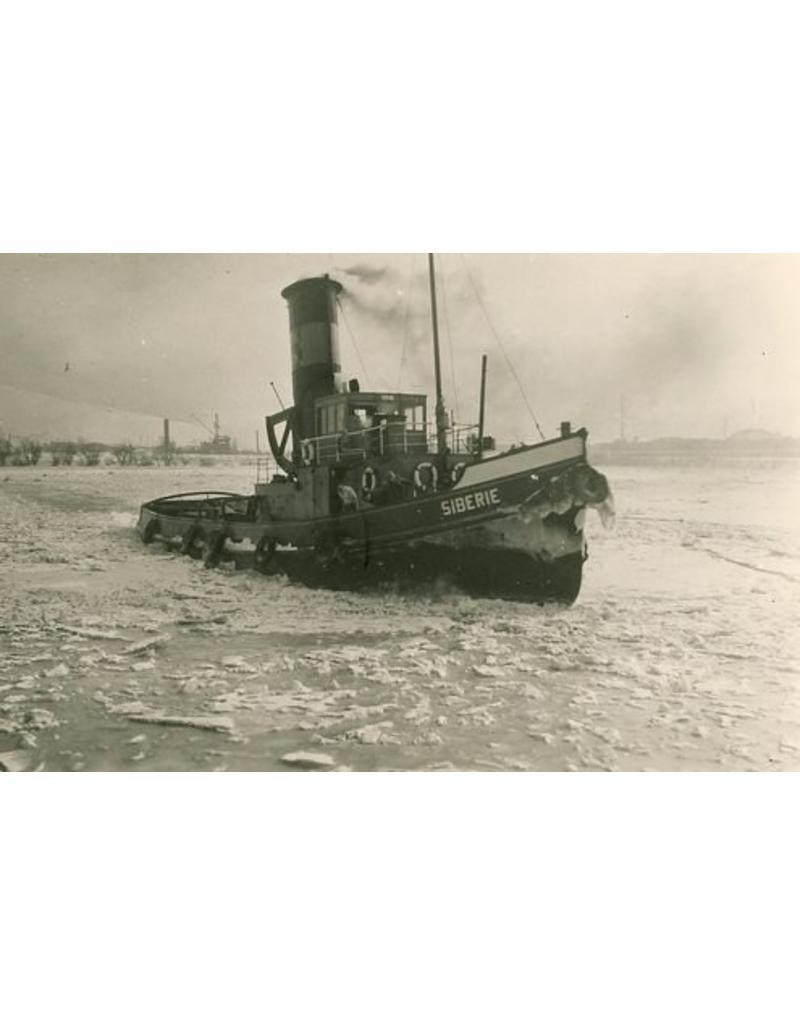 """NVM 10.14.031 havensleper-ijsbreker ss """"Siberie"""" (1926) - v/h P. Smit jr."""