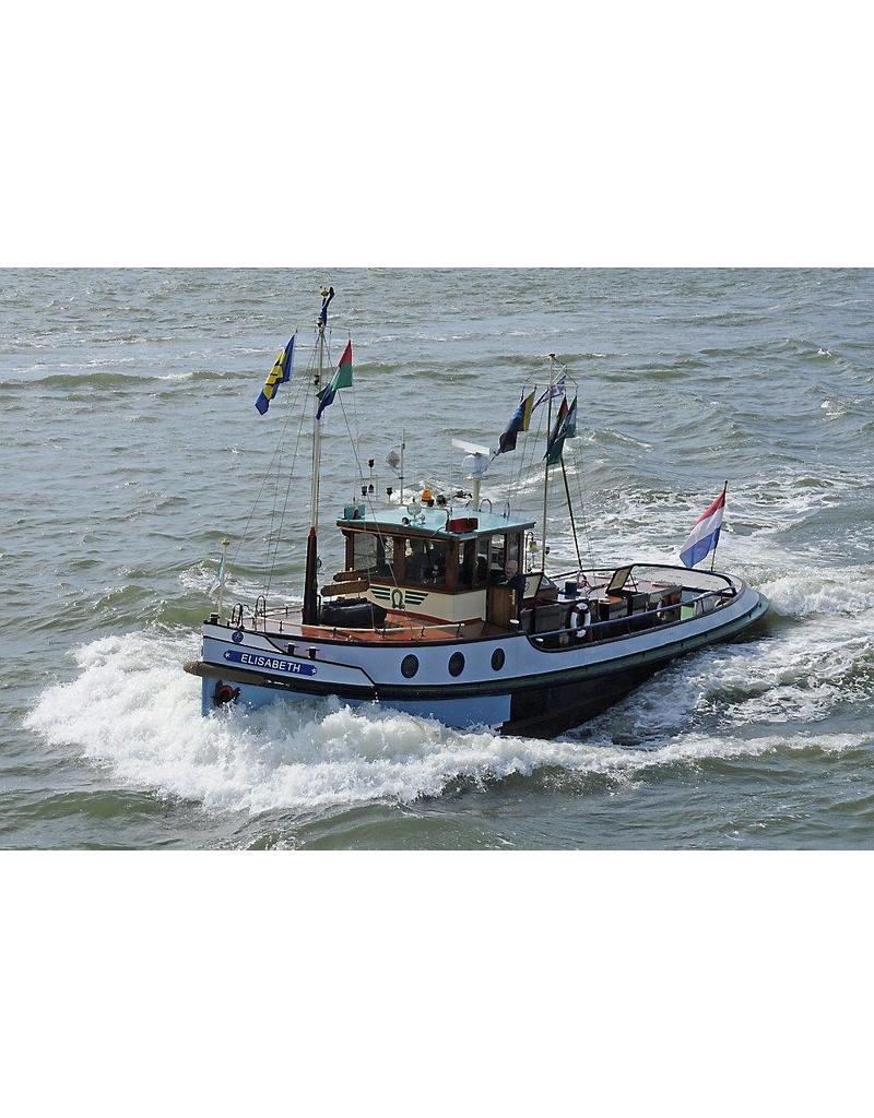 "NVM 10.14.042 riviersleepboot ms ""Elizabeth"" (1950) - C.J. van Thull"