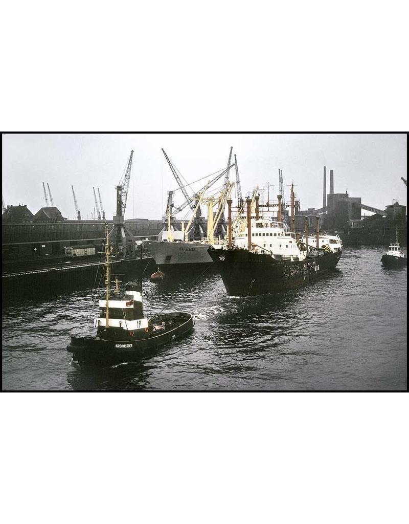 """NVM 10.14.089 sleepboot Bugsier 19 - """"Kirchwerder"""" (1958) - Bugsier"""