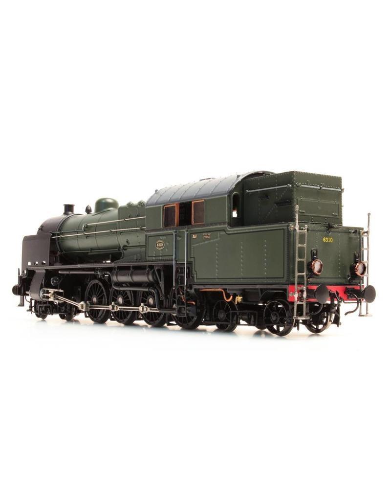 NVM 20.00.058 2-D viercilindre goederentreinlocomotief NS 6301-8322 voor spoor 0