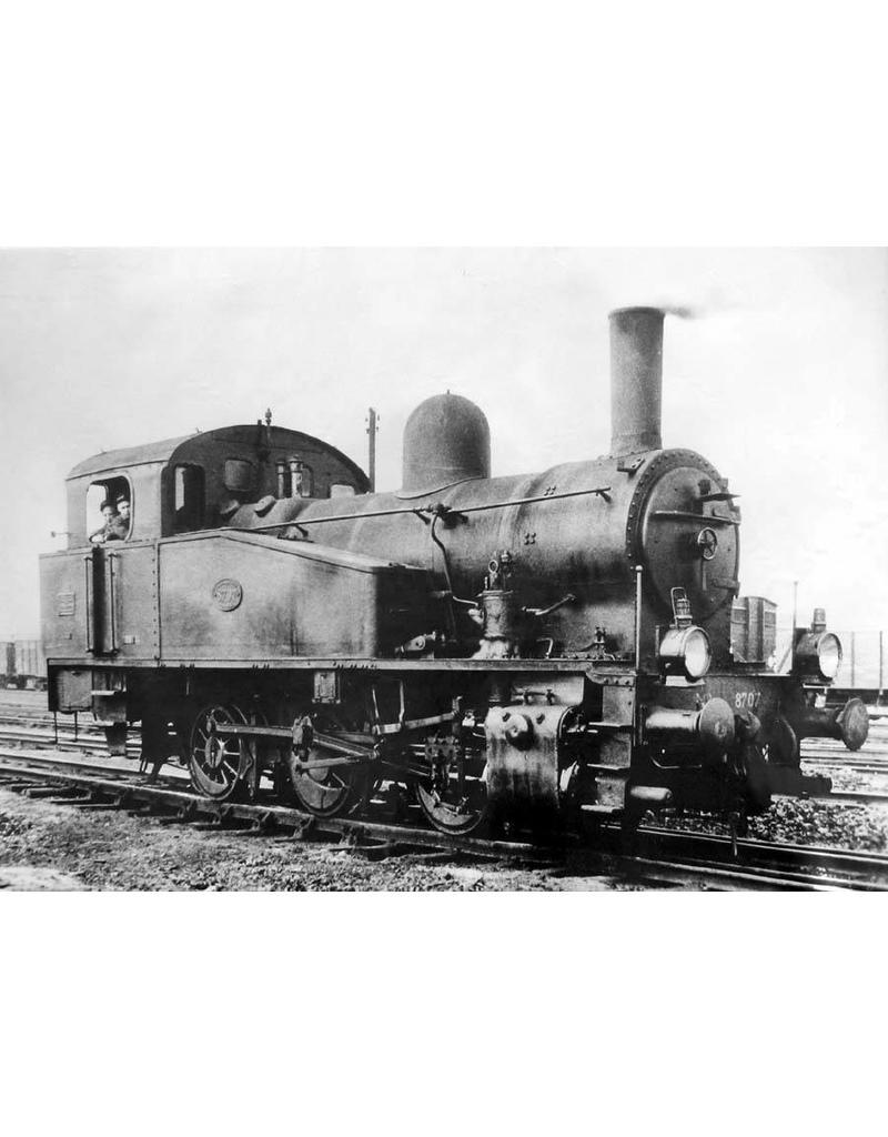 NVM 20.00.060 0-C-0 rangeerlocomotief NS 8726-8735 voor spoor 0