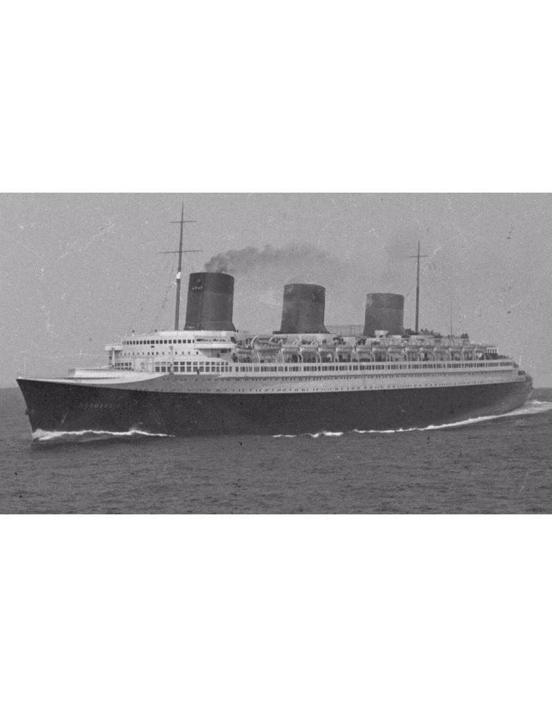 "NVM 10.20.014 passagierschip ss ""Normandie"" (1932) - Comp.Gen.Transatlantique"
