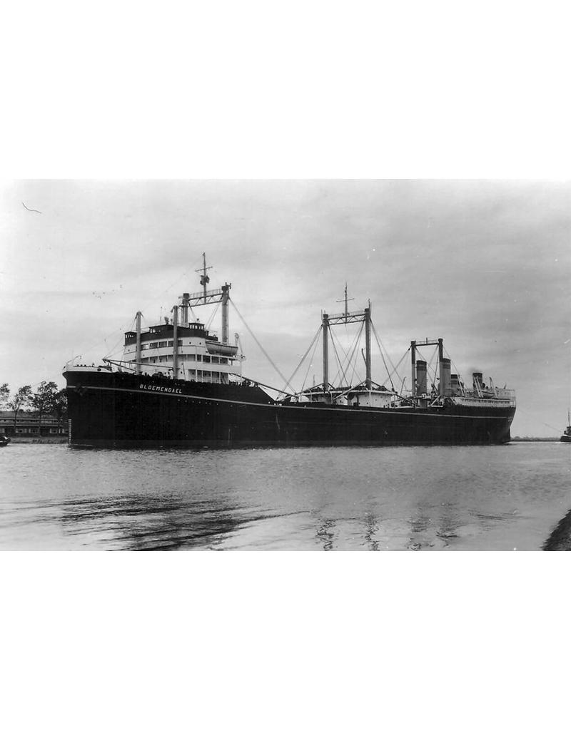 """NVM 10.20.016 walvisfabriekschip ms """"Willem Barendsz II"""" (1955) - Mij. v.d. Walvisvaart"""