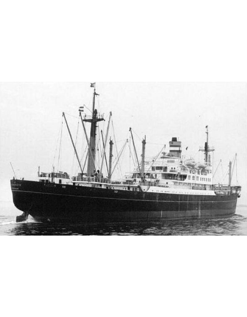 """NVM 10.20.030 vracht-passagierschip ms """" Diemerdijk"""" (1950) - HAL"""