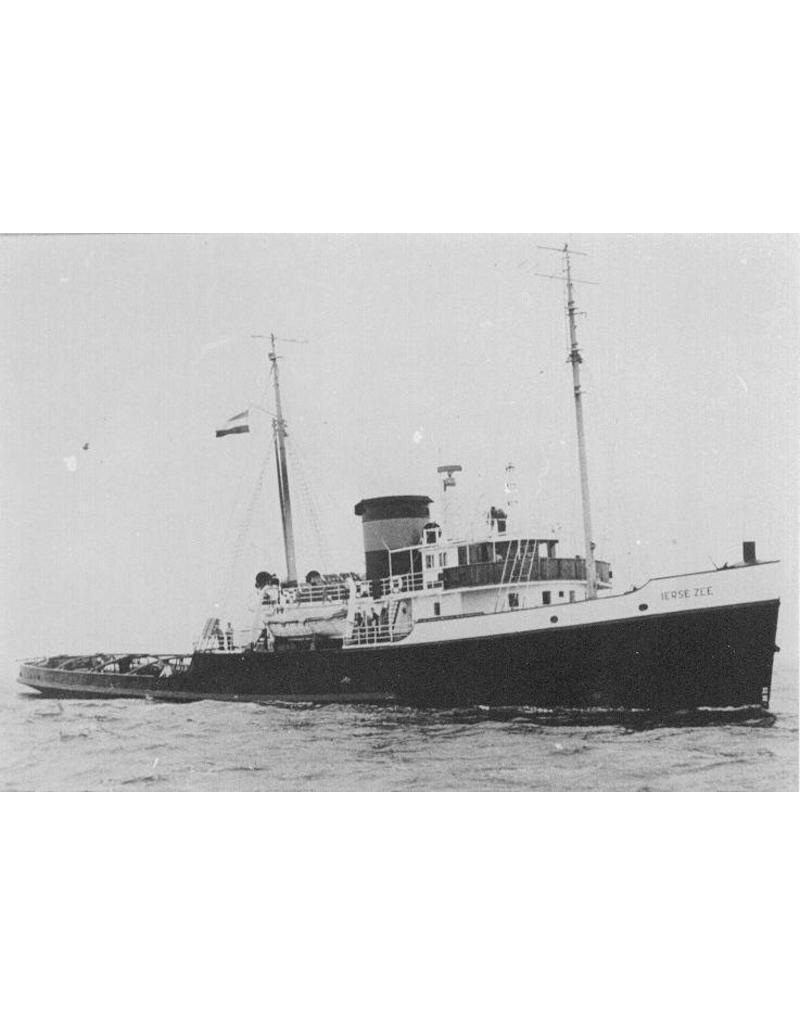 """NVM 10.20.037 zeesleper ms """"Zwarte Zee"""" (III)(1933) - L. Smit & Co"""