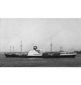 """NVM 10.20.040 vrachtschip ms """"Straat Cook"""" (1956) - KJCPL"""