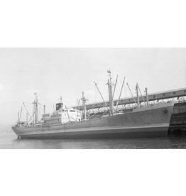 "NVM 10.20.048 vrachtschip ms ""Wonosari"" (1952) - Kon.Rott.Lloyd; ""Wonogiri"", ""Wonorato"", ""Wonosobo"""