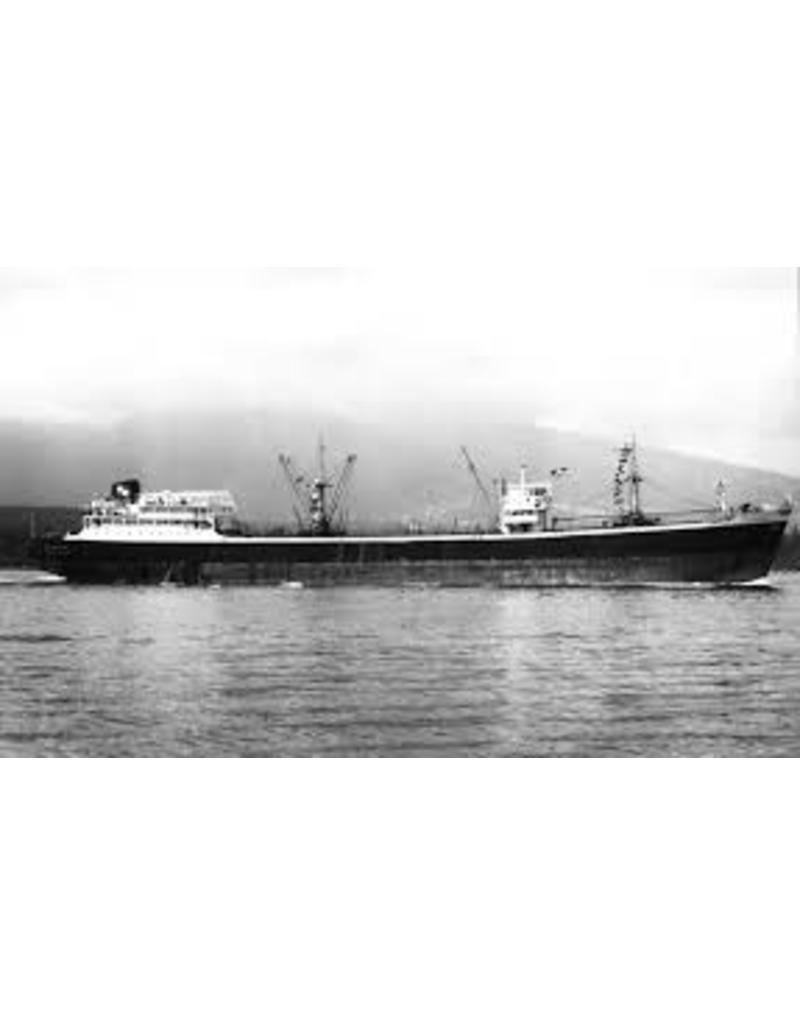 """NVM 10.20.080 vrachtschip ms """" Romanby"""" (1957) - Ropner Shipping Co."""