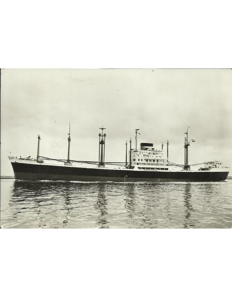 """NVM 10.20.089 vrachtschip ms """"Banda"""" (1956) - SMN; """"Balong"""", """"Batjan"""""""