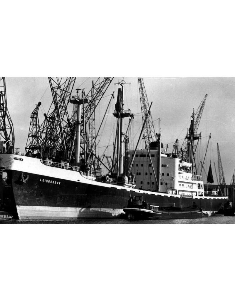"""NVM 16.10.011 vrachtschip ms """"Leiderkerk"""", """" Lelykerk"""", """"Laarderkerk"""" (1958/1959) - VNS - Nedlloyd"""