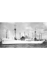 "NVM 16.10.015 vrachtschip ms ""Gaasterland"" (1950), ""Graveland"" (1951) - KHL"