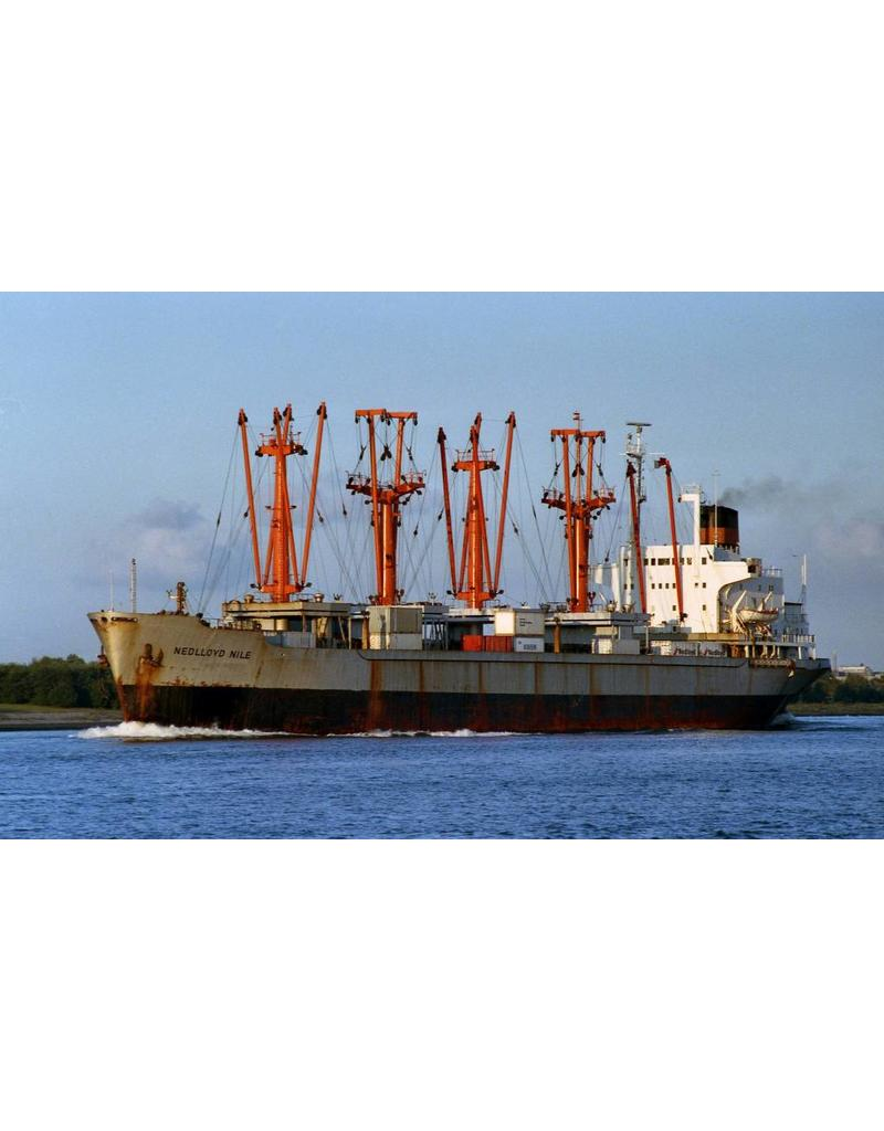 """NVM 16.10.026/A vrachtschip """"Nedlloyd Nile"""", Nedlloyd Niger"""""""