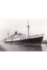 "NVM 16.10.030 vracht/passagiersschip ms ""Oranjefontein"" (1940), Jagersfontein - VNS"