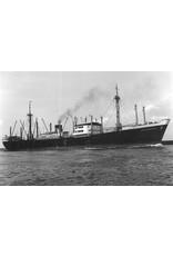 """NVM 16.10.038 vrachtschip dsms """"Annenkerk"""" (1947) - VNS/Nedlloyd"""