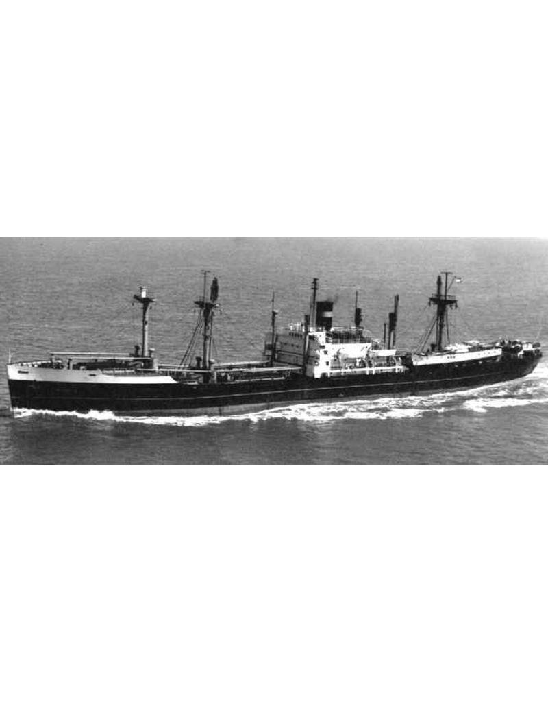 """NVM 16.10.049/A vrachtschip ss """"Akkrumdijk"""" (1945, Victory schip) - HAL (1948)"""