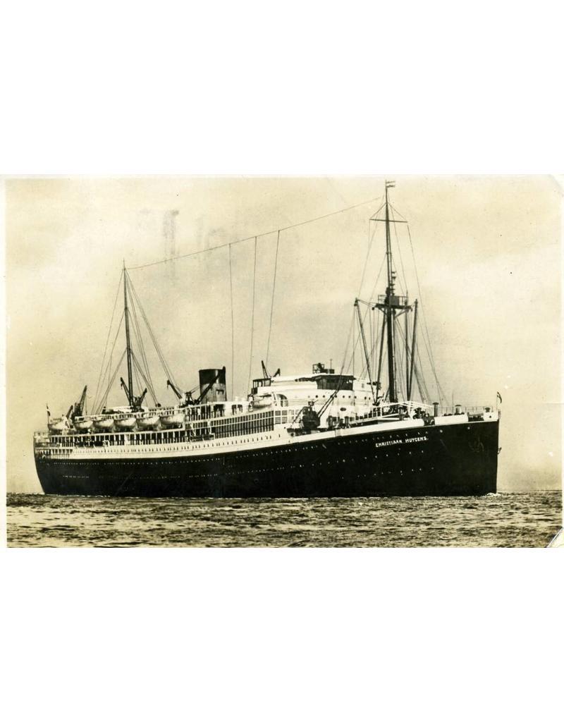 NVM 16.10.058 pass.schip ds ms Christiaan Huygens (1928) - SMN