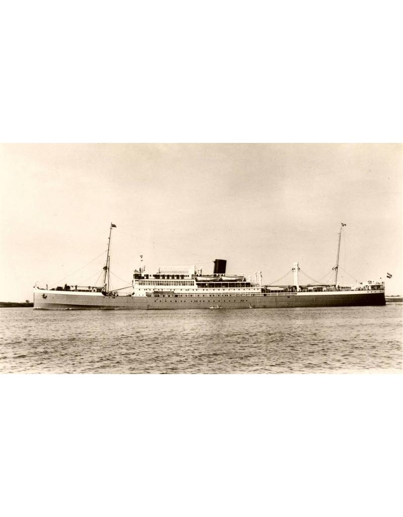 """NVM 16.10.065 passagiersschip dsms """"Indrapoera"""" (1926) - Rott. Lloyd"""