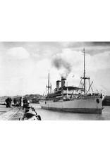 """NVM 16.10.071 pass.schip ds ss """"Nieuw Holland"""" (1928) - KPM/KJCPL(1947)"""