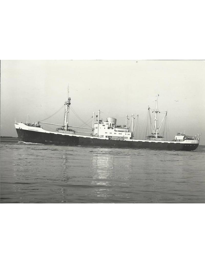 "NVM 16.10.073 vrachtschip ms ""Gabonkust"" (1955), ""Camerounkust"" - SMN/HWAL"