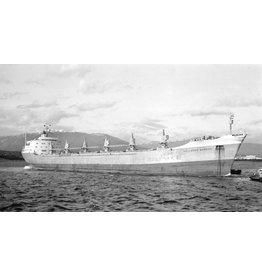 """NVM 16.10.080 bulkcarrier ms """"Hollands Burcht"""" (1965) - HVM/HBT"""