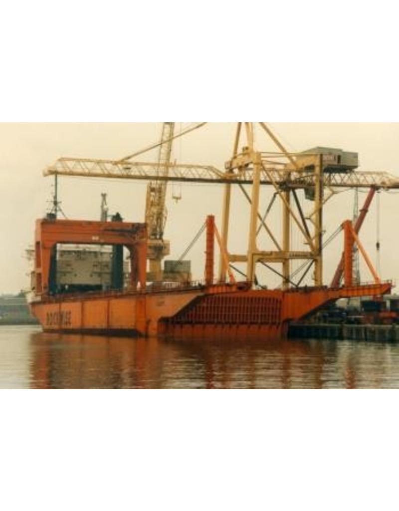 """NVM 16.10.083 halfafzinkbaar zware lading schip ms """"Dock Express 10"""" (1979) - Dockwise"""