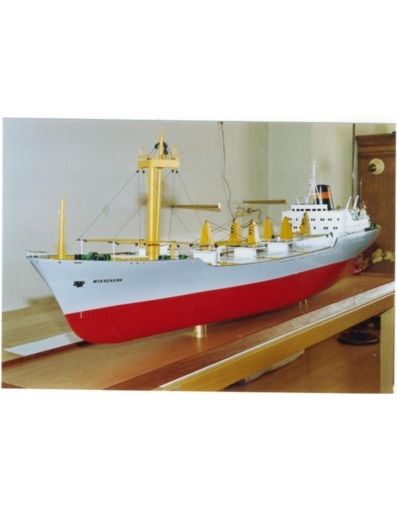 """NVM 16.10.087 vrachtschip ms """"Wissekerk"""", """"Westerkerk"""", """"Waalekerk"""" (1967) - VNS/Nedlloyd"""
