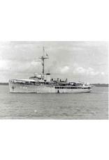 """NVM 16.11.008 HrMs Mijnenlegger """"Jan van Brakel"""" (1936) na verbouwing tot escortevaartuig (1944)"""