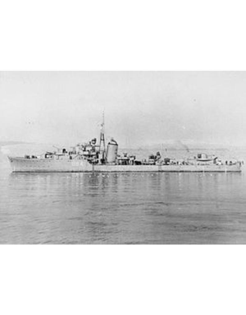 "NVM 16.11.018/A torpedobootjager HrMs ""Van Galen"" (1942) - ex HMS"" Noble"" (1939)"