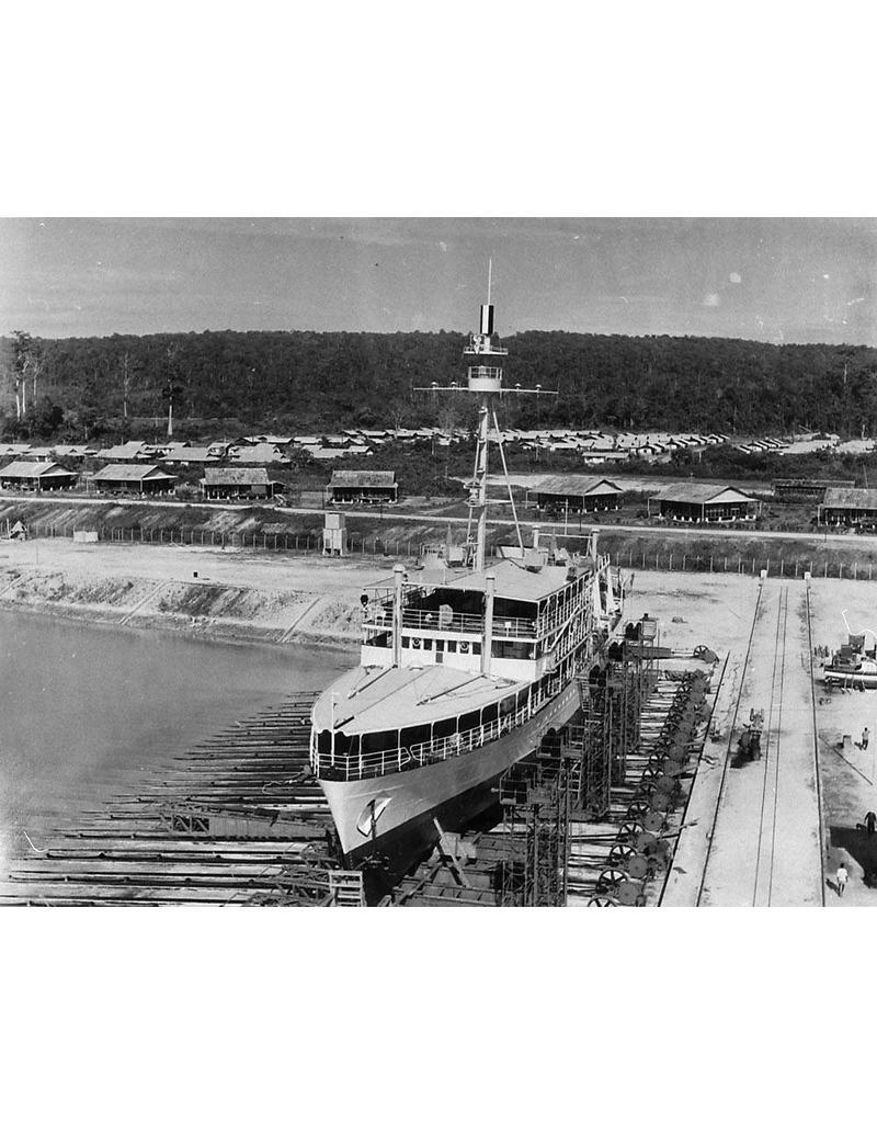 """NVM 16.11.019 opnemingsvaartuig HrMs"""" Willebrord Snellius"""" (1929)"""