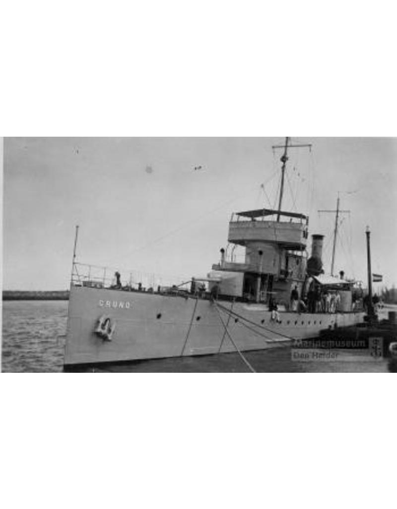 """NVM 16.11.021 Pantserboot HrMs """"Gruno"""" (1915); Brinio-klasse, vanaf 1935 kanonneerboot"""