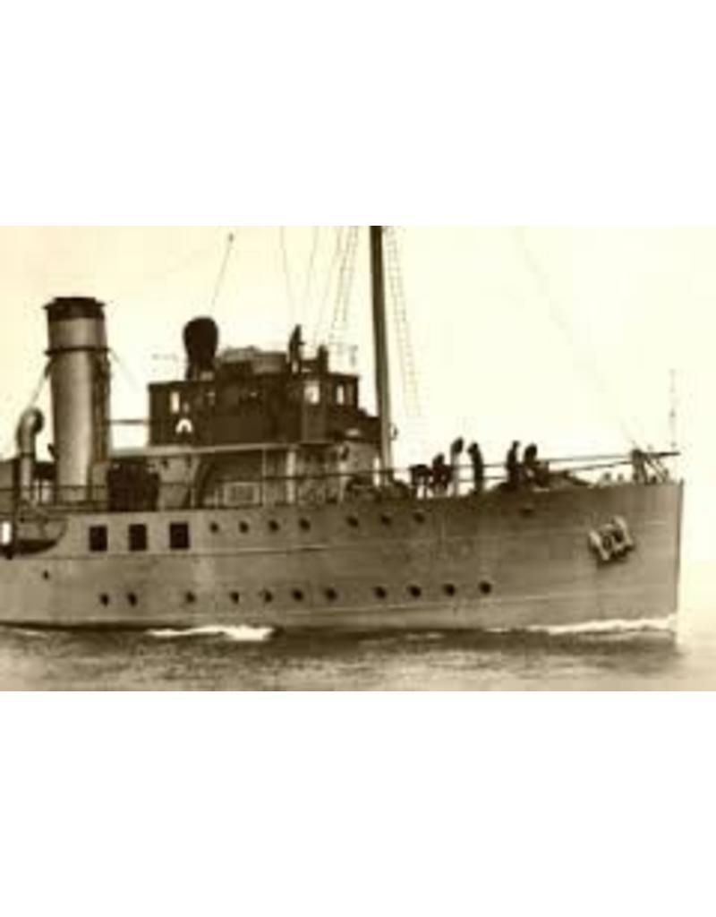 """NVM 16.11.032 HrMs mijnenlegger en visserij inspectieschip """"Nautilus"""" (1930)"""