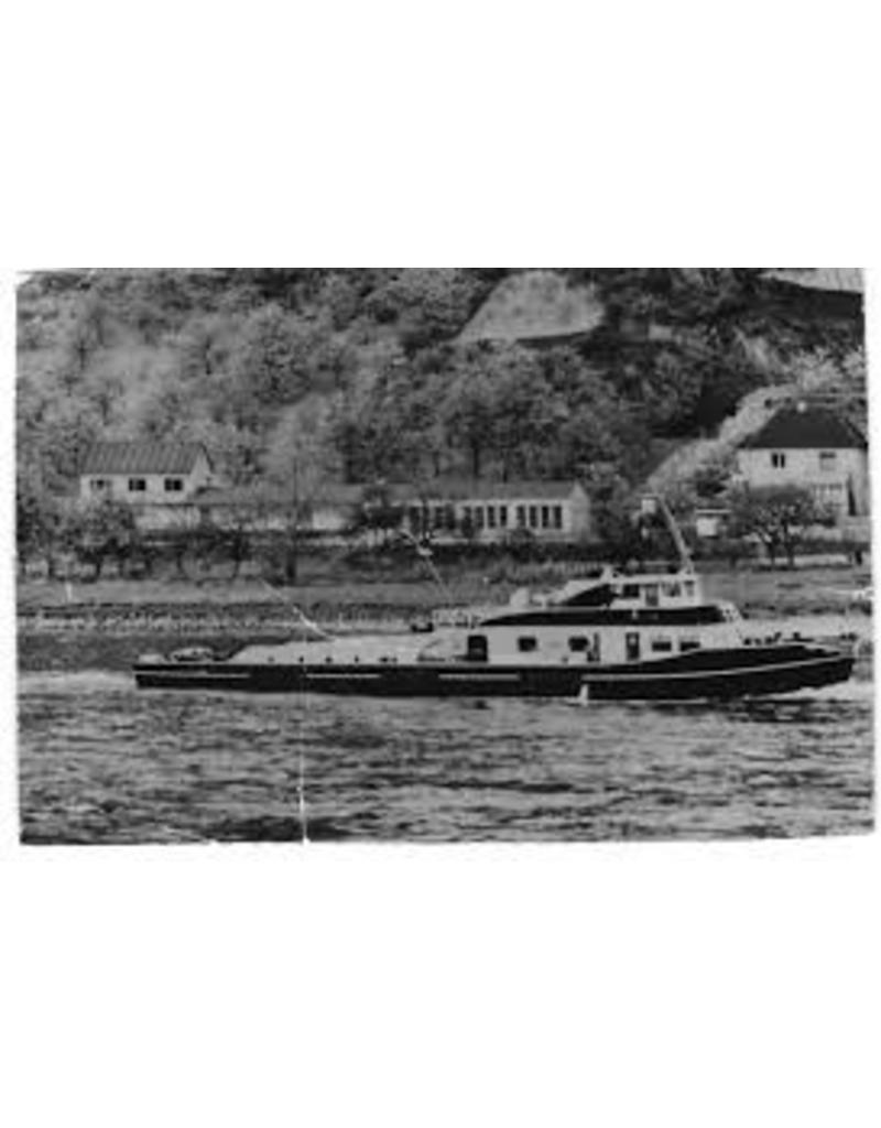 """NVM 16.14.010 Rijnsleepboot ms """"Logi"""" (1956) - Nederl. Rijnvaart Ver."""