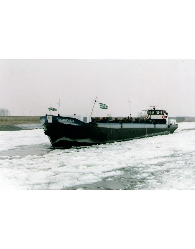 """NVM 16.15.004 binnenvaarttanker ms """"Caucasia"""" (1951) - Phs. Van Ommeren"""