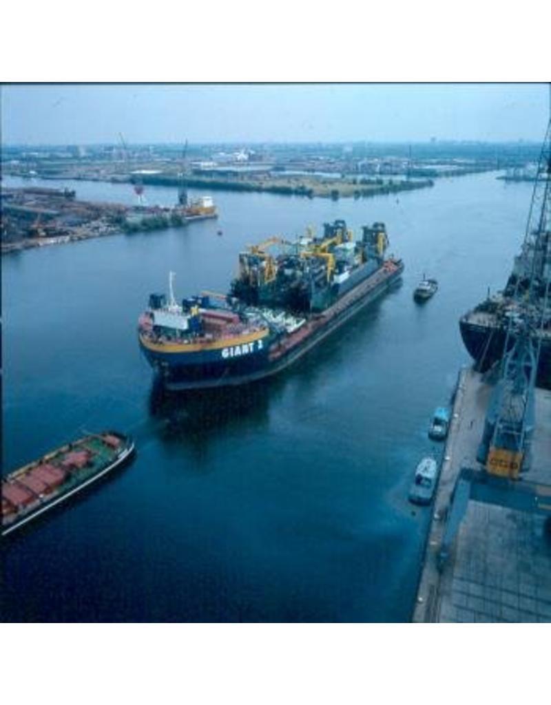 NVM 16.19.039 afzinkbaar ponton Giant 2 (1976) - Smit Imternationale